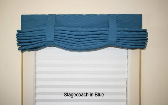 Stagecoach in Blue